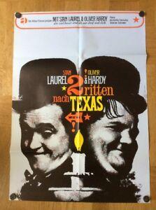 Zwei-ritten-nach-Texas-Kinoplakat-67-Oliver-Hardy-Stan-Laurel-Atlas
