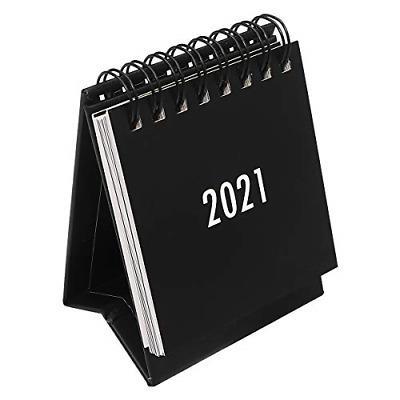 NUOBESTY Desktop Calendar 1Pc 2020.7-2021.12, Mini Stand ...