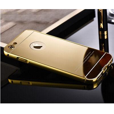 Coque Housse Etui Luxe Gold Plated Aluminum Metal Case for iPhone 6/6Plus 5s 5