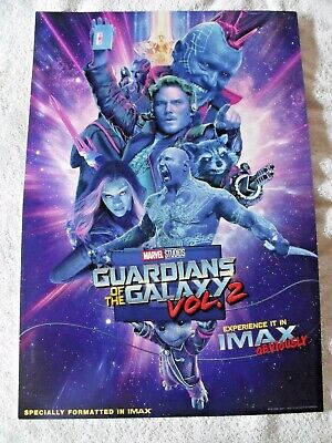 GUARDIANS OF THE GALAXY MOVIE POSTER 24x36 MARVEL COMICS 160606 VOLUME 2
