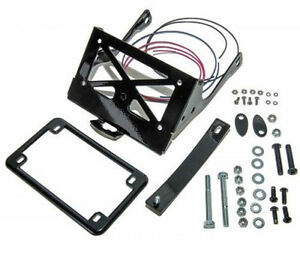 Details about HARLEY DAVIDSON XL883N IRON TURN SIGNAL & LICENSE PLATE  RELOCATION KIT