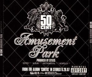 Details about 50 Cent: Amusement Park PROMO MUSIC AUDIO CD Edited  Instrumental Acapella Album