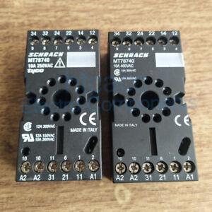 MT78740-Schrack-Relay-Socket-10A-250VAC-11-Pin-Holes