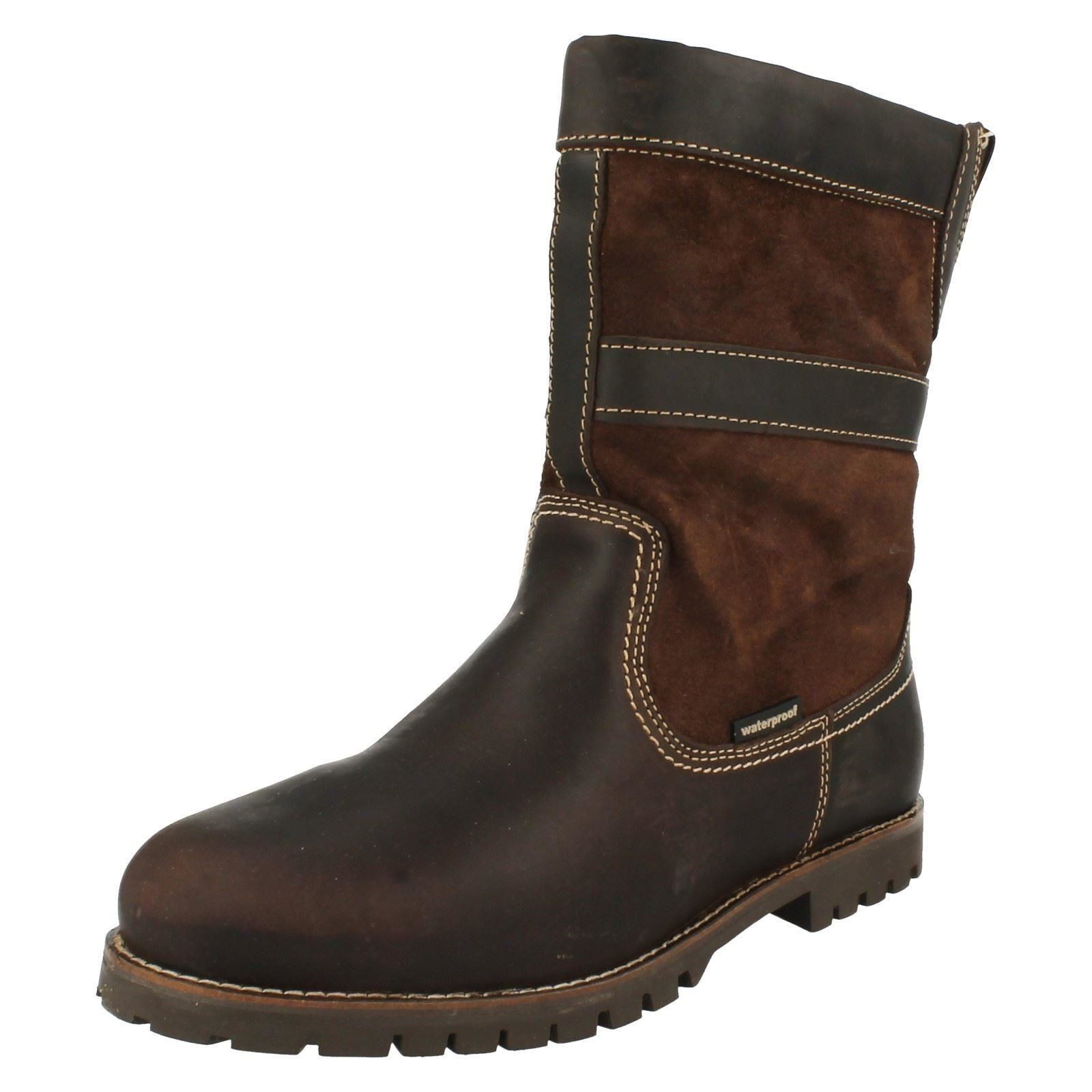 Herren HUMAN NATURE MEN LAARS Stiefel LEDER MEN NATURE PATRIC b67e79