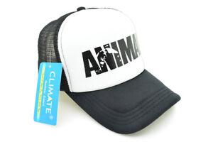 Mode 2019 Men Animal Gym Mesh Trucker Caps Animal Print Fitness Fans Black Mesh Cap Body B CaractéRistiques Exceptionnelles
