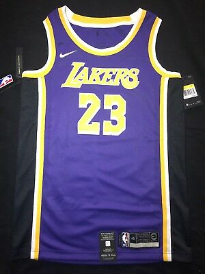official photos 93f9f 04131 LeBron James Statement Edition Swingman Jersey Lakers Size Small 100%  Authentic 5722201565335 | eBay