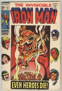 Iron-Man-18-October-1969-VG-Avengers
