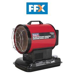 Details about Sealey IR20 Infrared Paraffin Kerosene and Diesel Heater  20 5kW 230V
