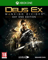 Deus Ex Mankind Divided Day One Edition Game For Xbox One UK PAL - New & Sealed