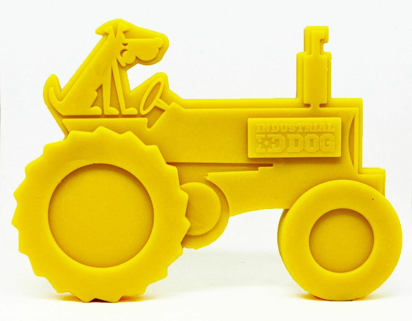 Id Traktor Nylon Spielzeug Ultra Langlebig Chew ´S - Hund & Welpe Belohnung Gelb