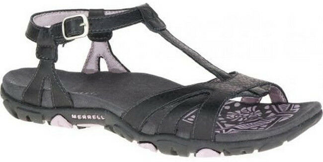 Merrell Sandspur Spark Sandals Womens Buckle Strap Summer T-Strap Slingback shoes