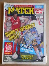MATCH Magazine 06-02-1988 Cover MILLWALL Team Soccer  [P61]
