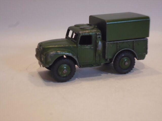 Vintage Dinky Toys Army 1 Ton Cargo Truck No. 641 - Very Good