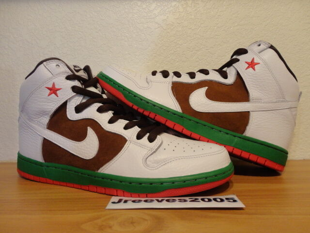 Nike Dunk High Premium SB CALI Sz 11 100% Authetnic AF1 Supreme Low