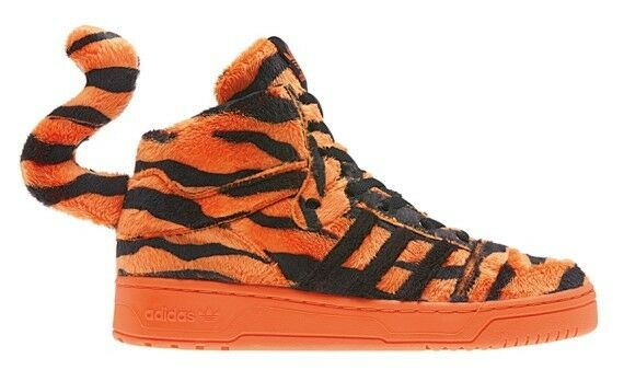 Adidas Originals Jeremy Scott JS Tiger Orange/Black Trainers M29010 Limited Ed