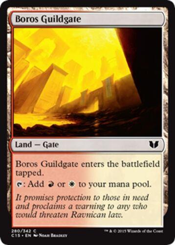 MTG Magic - C NM//M Commander 2015-4x Boros Guildgate x4