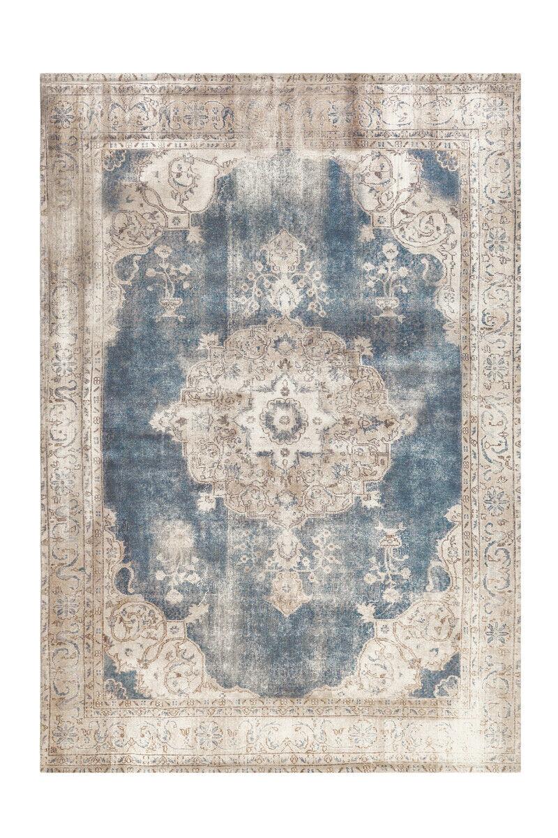 Arte Espina Tapis classique aubousson Orient Vintage Bleu Beige 140x200cm