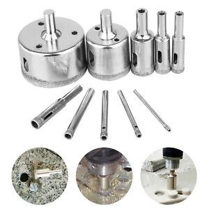 8 mm Diamond Coated Core Drill Bit Carrelage Marbre Verre Trou Scie 10pcs