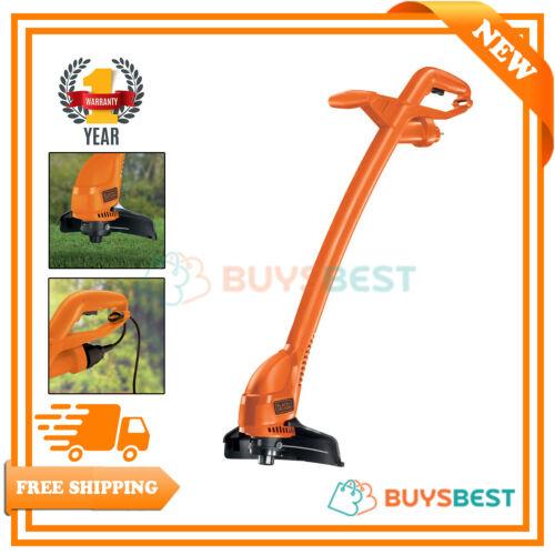 Black /& Decker 240v String Grass Trimmer Strimmer 25cm 350W In Orange GL360