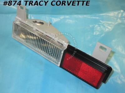 1984-1987 CORVETTE  RT FRONT SIDE MARKER LAMP  90 DAY WARRANTY
