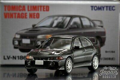 /'96 Mitsubishi Lancer EVO IV silber,Tomytec Tomica Lim.Vint.Neo LV-N186a,1//64