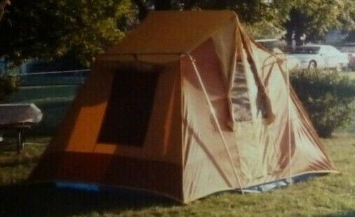 Outdoor Venture Corp Tent (70's    Canvas   Vintage)  8' x 10'  online fashion shopping