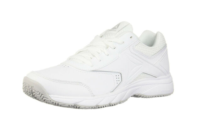 be24f25a690 REEBOK Work N Cushion 3.0 Cross Trainer White Athletic Sneakers Adult Men  Shoes