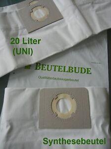 Vlies Staubsaugerbeutel passend für Thomas Studio 1020 Fitertüten Dust Bags