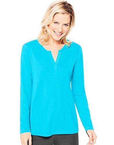 Select SZ//Color. Hanes Womens Activewear Lightweight Split Neck Tunic M