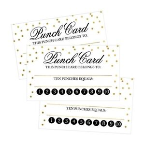 image is loading 25 rewards punch cards for business kids students - Business Punch Cards