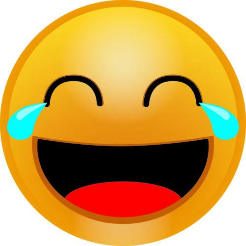 Smileys Sticker farbig Deko 10x Aufkleber Smiley pure Freude 10cm Smile