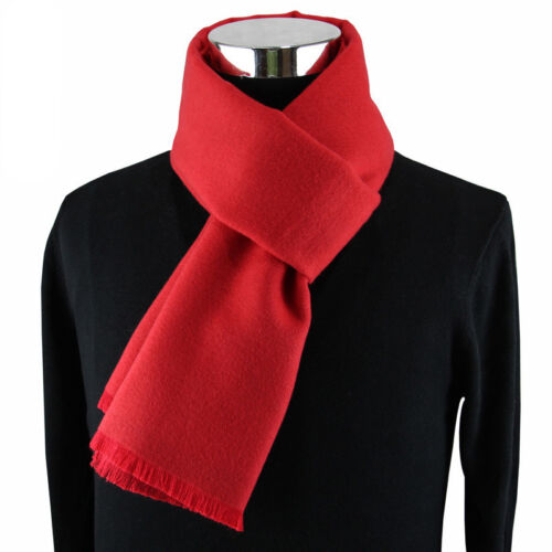 Luxury Cashmere Scarf High Quality Warm Scarves Winter Fall Casual Gray Red