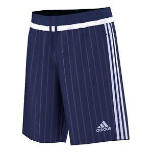 Kurze Jogginghose Sporthose von adidas Herren blau weiße