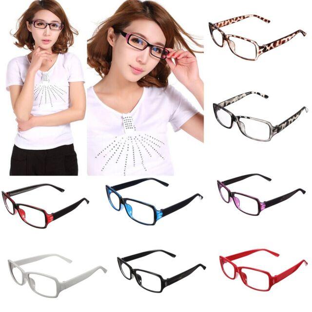 Ultra-light Unisex Retro Clear Plain Lens Frame Spectacles Eyewear Eye Glasses