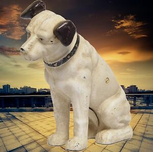 Hucha-Hunda-Cast-Iron-Nipper-Dog-Banco-Hierro-Forjado-Vintage-Regalo-Para