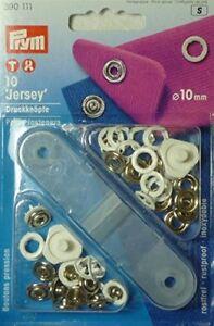 Prym 390107 Jersey Druckknöpfe Ring 10 mm 10 Stk.
