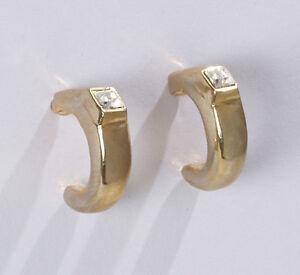 Moderne-Trend-Ohrringe-Stecker-gold-plated-Swarovski-Glas-Stein-Kristall-Neu