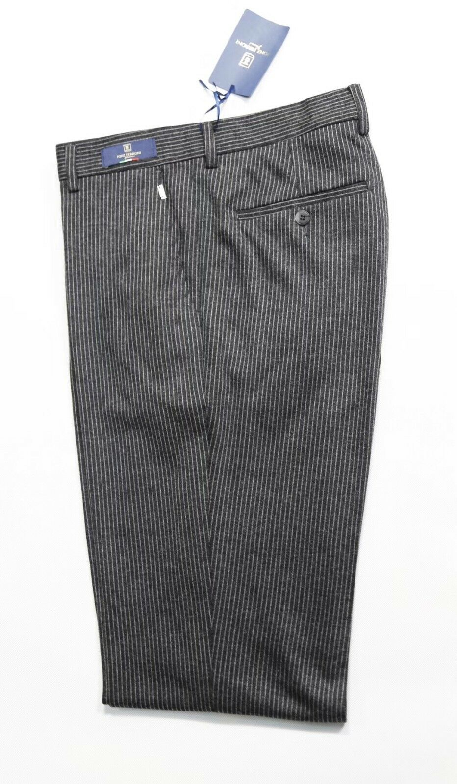 Fonz Ferroni Pants Wool Quality So Hi Feels Silk Amazing Size 38 33 Fonz Florenc