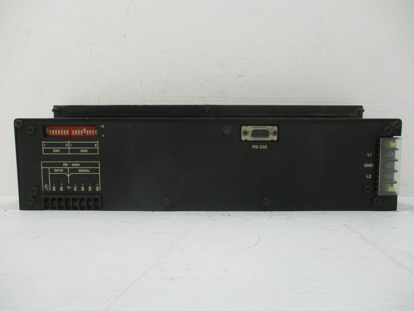 Uticor Technology PMD 150 Programmable Message Display 150-115N2L08EX Rev.B 115V