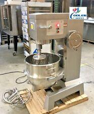 New 60 Quart Mixer Machine 3 Speed Bakery Kitchen Equipment Mx60 Commercial Use