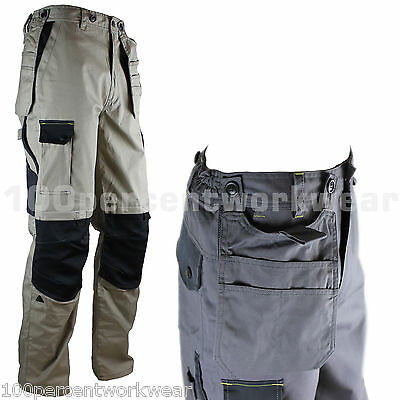 Delta Plus Panoply Work M5pan Men Cargo Combat Pants Tool Pockets New