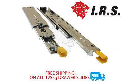900mm 125kg Locking Drawer Slides / Cargo Trailers - Fridge Runners, Heavy Duty