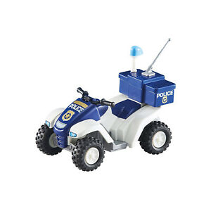 Playmobil-Police-Quad-Building-Set-6504-NEW-Learning-Toys-Educational