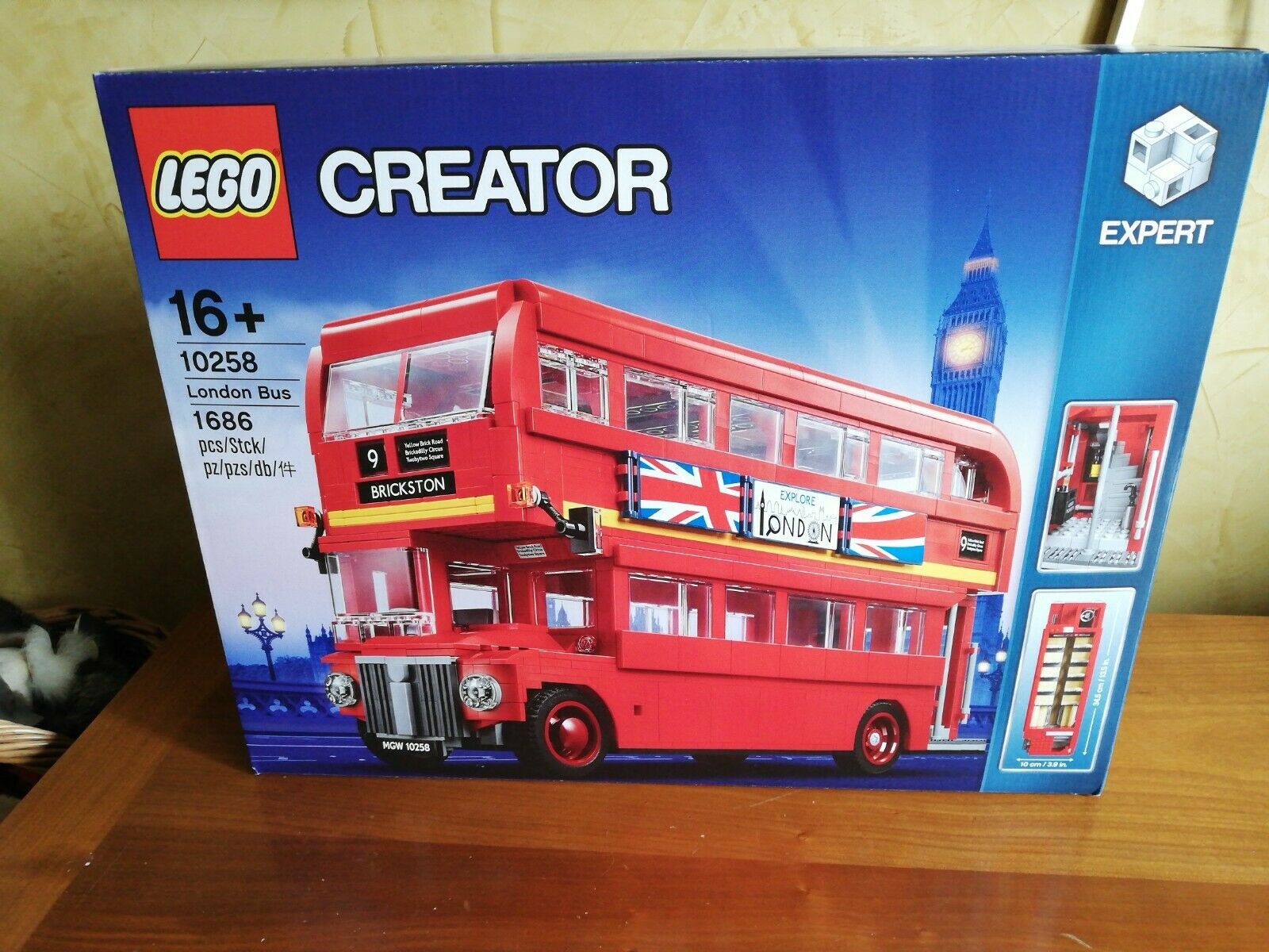 Lego Creator London Bus 10258 Neu