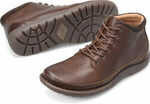 b7afa2afb65 Details about Men's Born Lace Up Comfortable Rugged Nigel Boot Brown H48306