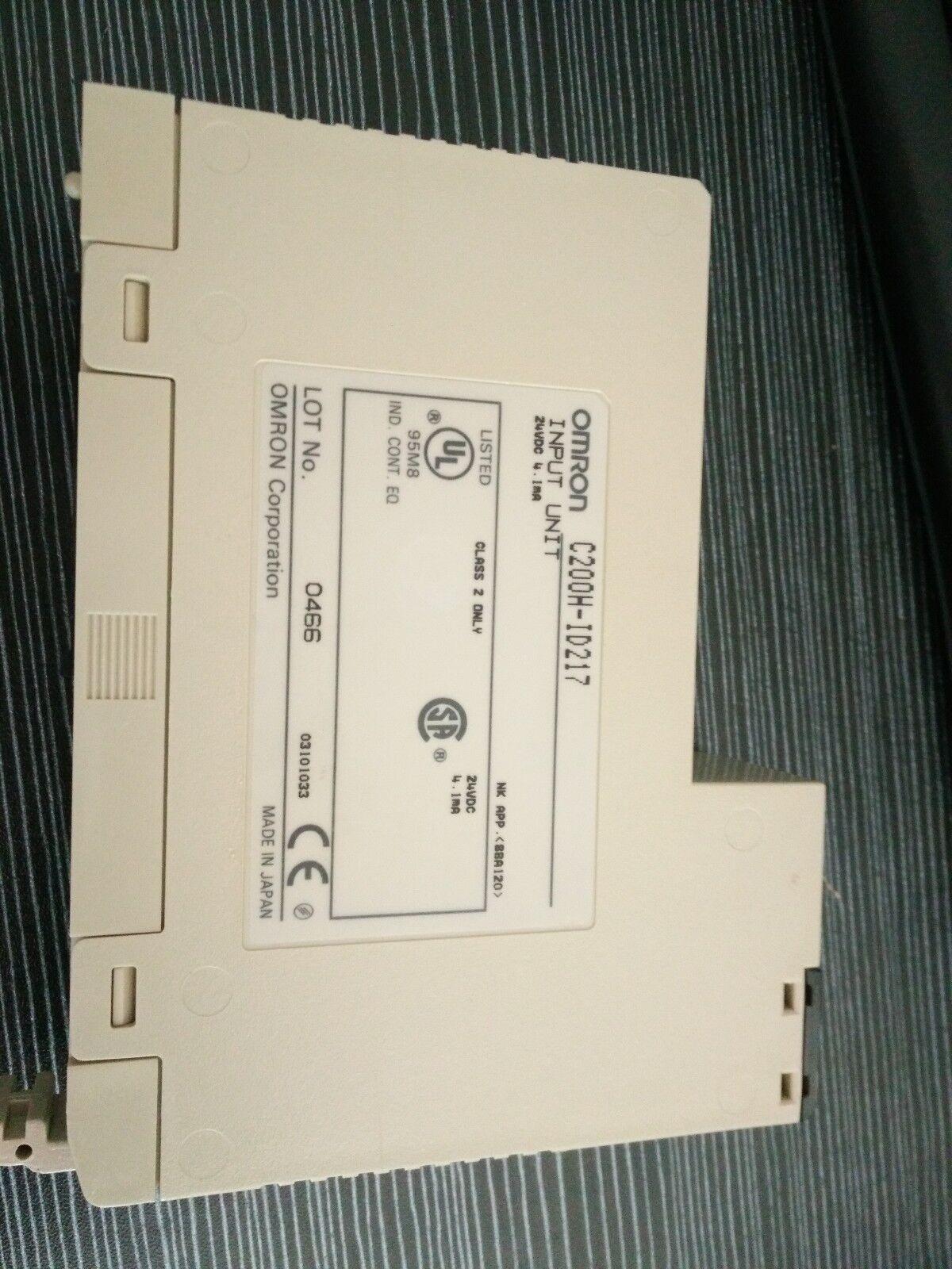 1PC NEW Omron Input Unit C200H-ID217 C200HID217