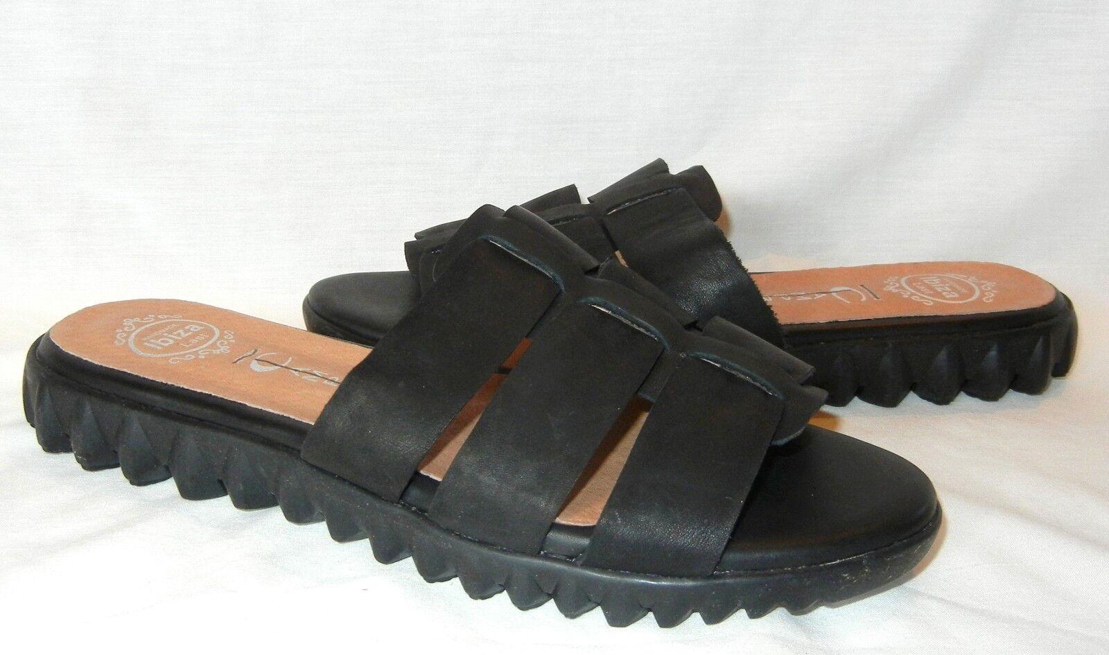 Jeffrey Campbell Women's Rochelle Slide Leather Sandals shoes Retail  120 size 7