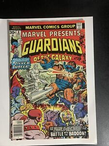 MARVEL PRESENTS #8 1976 GUARDIANS OF THE GALAXY FEATURING SILVER SURFER