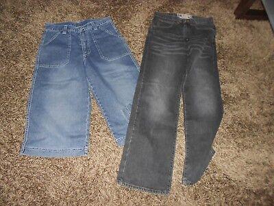 100% Wahr Kinder Jeans / Baggygr 170 Und Crocker Jeans Schlaghose Vintage
