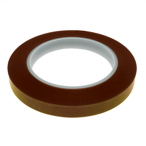 Sizes 3.5 6.5 10 /& 12.7mm Pack of 4 Ultra High Temp Polyimide Fine Line Tapes